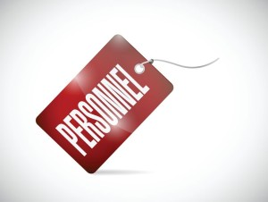 personnel tag illustration design